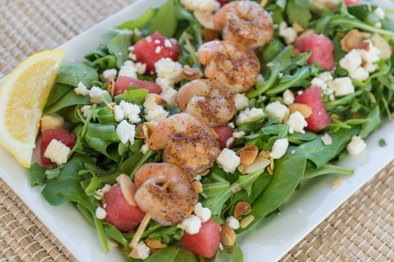 Bluewater Waterfront Grill, Shrimp Salad