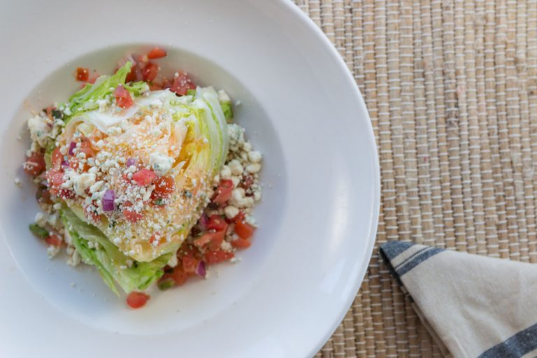 Bluewater Waterfront Grill, Wedge Salad