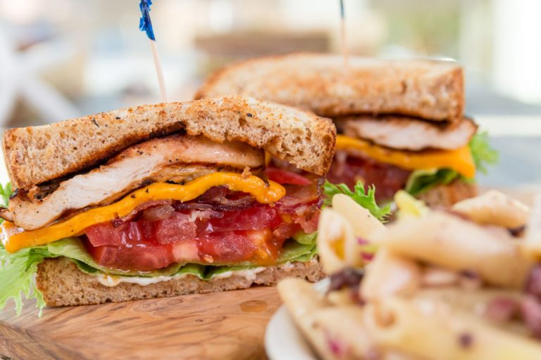 Bluewater Waterfront Grill, Grilled Chicken BLT
