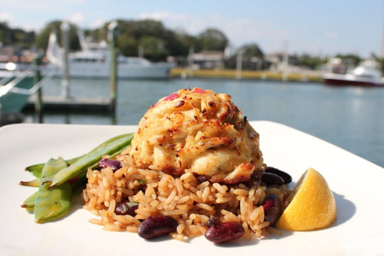 Bluewater Waterfront Grill, Jumbo Lump Crab Cakes
