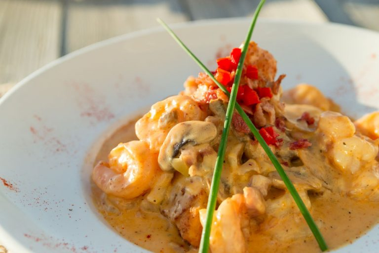 Bluewater Waterfront Grill, Shrimp and Grits